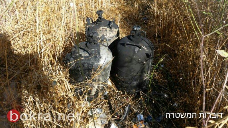 تعرض مواطن عربي من نتسرات عليت لحريق داخل سيارة