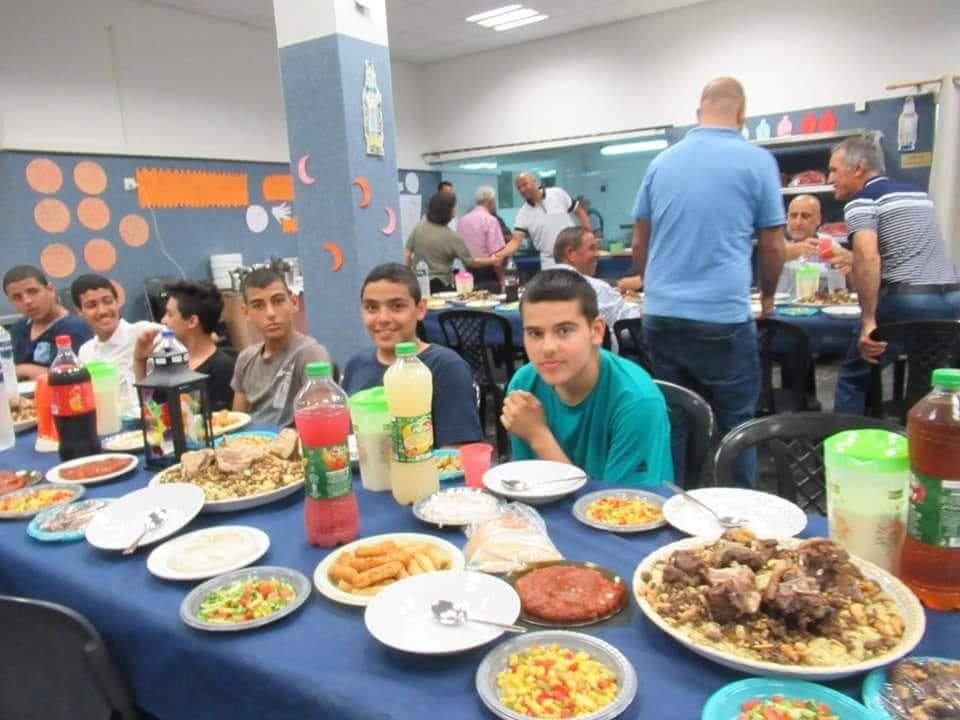 الناصرة: اجواء مميزة في الافطار الجماعي لمدرسة مفتان