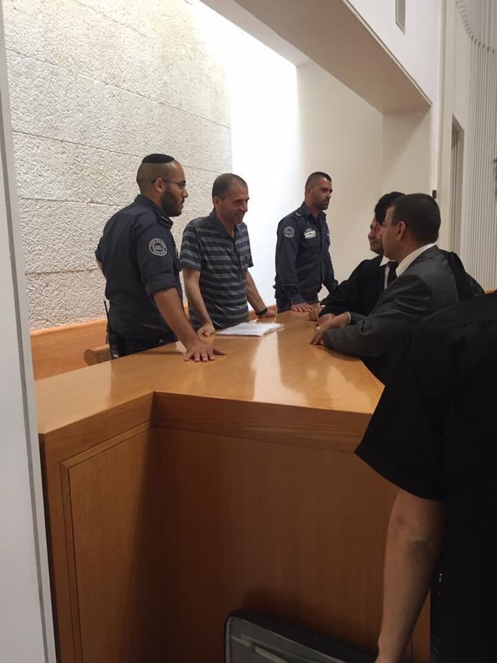 العليا تناقش استئناف د. سليمان اغبارية القيادي بالحركة الاسلامية ضد الاستمرار باعتقاله