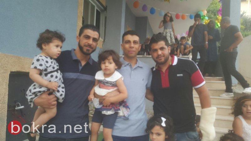 فرحٌ في أم الفحم بعد الافراج عن الشابين محمد محاجنة ومحمود جبارين