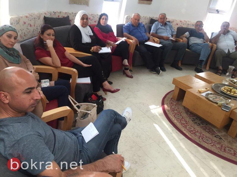 النائب زهير بهلول في لقاء مع مجموعة اعلام في جفعات حبيبه