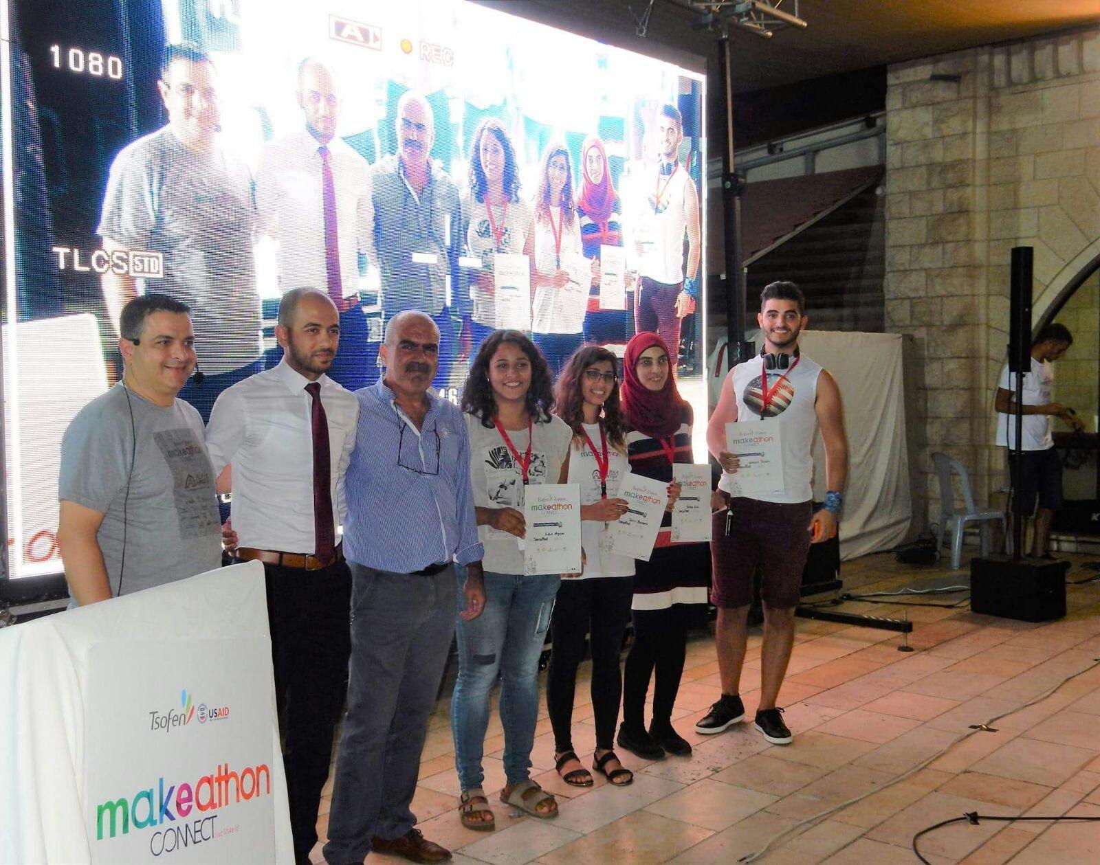 إختتام ميكاثون الناصرة السادس 2017 لمؤسسة تسوفن