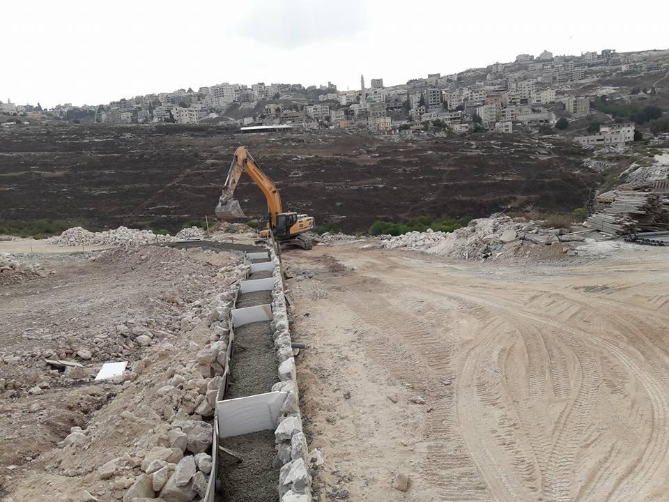 بلدية الناصرة تبدأ في تنفيذ المنطقة الصناعية الشمالية