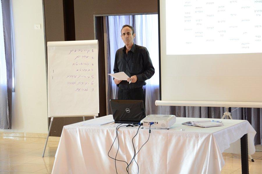 يوم دراسي في الأستشارة التنظيمية لمدراء وموظفي اقسام مجلس كفرمندا