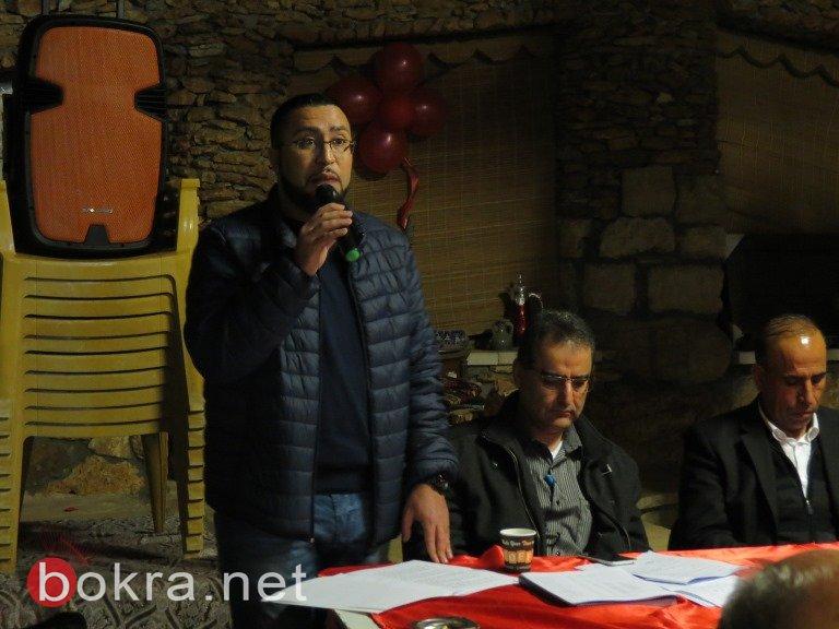 جبهة عرابة تنتخب مرشحها عمر واكد نصار لرئاسة البلدية