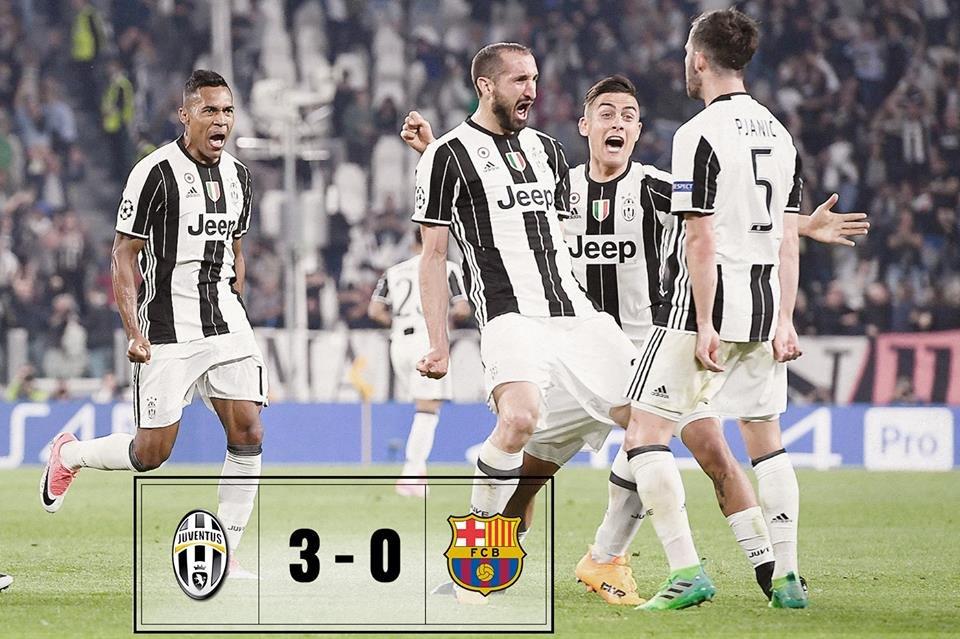 5 أسباب قادت إلى هزيمة برشلونة أمام اليوفي
