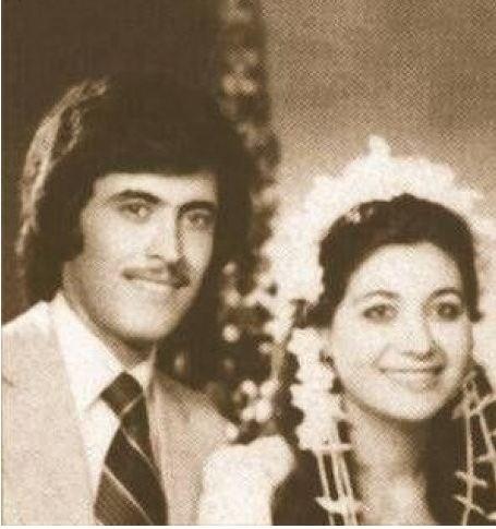 صورة نادرة من زواج كاظم الساهر