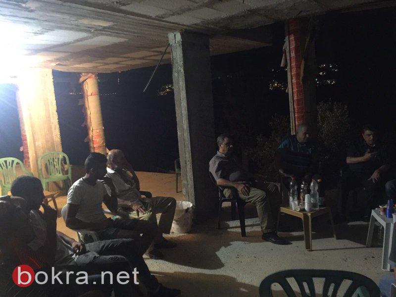 نصب خيمة اعتصام بعرعرة لمواجهة خطر الهدم الذي يهدد بيت عائلة جزماوي