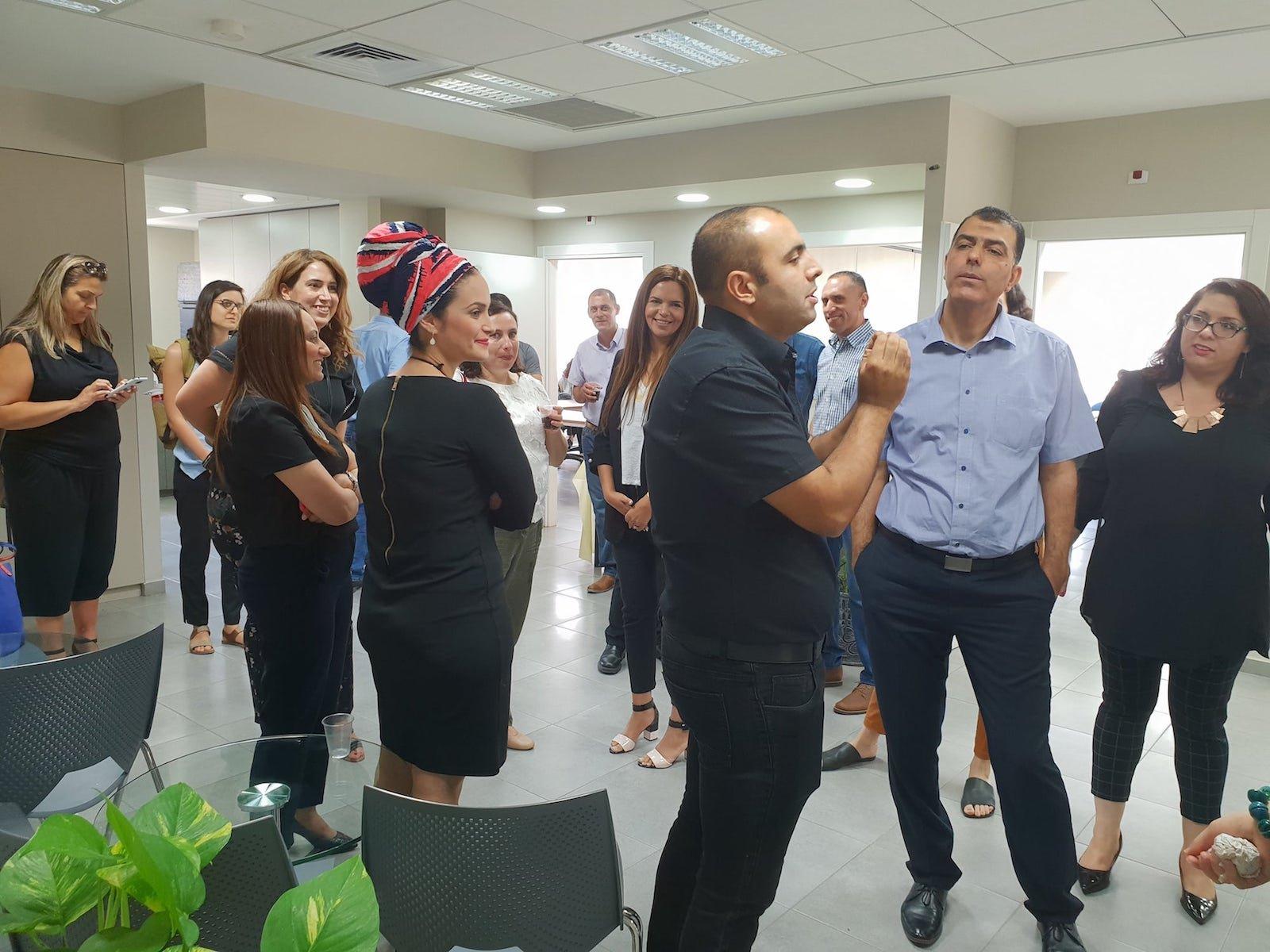 زيارة مفوّض التشغيل في وزارة العمل لمراكز ريان في يركا وطمرة للاطلاع على سير العمل والتحدّيات في مجال التشغيل