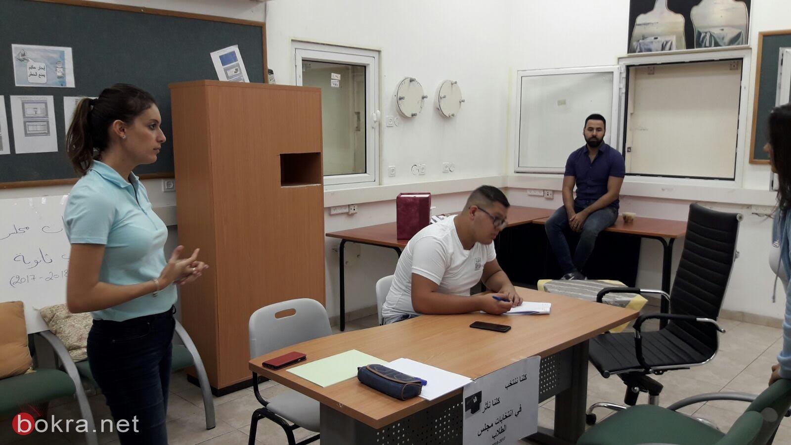محمد فواخري رئيس مجلس الطّلاب في ثانويّة الكرمة العلميّة