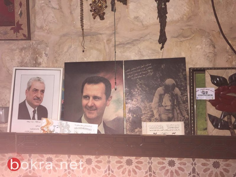 مقهى دمشق في جنين .. لا تدخل قبل أن تدوس على صورة ترامب