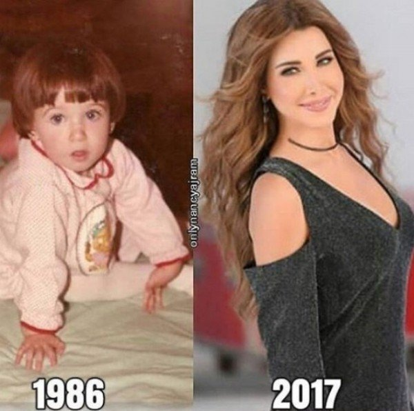 لن تصدّقوا كيف كانت نانسي عجرم قبل 31 عاماً!