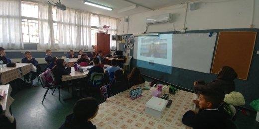 أسبوع حافل بفعاليات الانترنيت الآمن في ابتدائية مشيرفة
