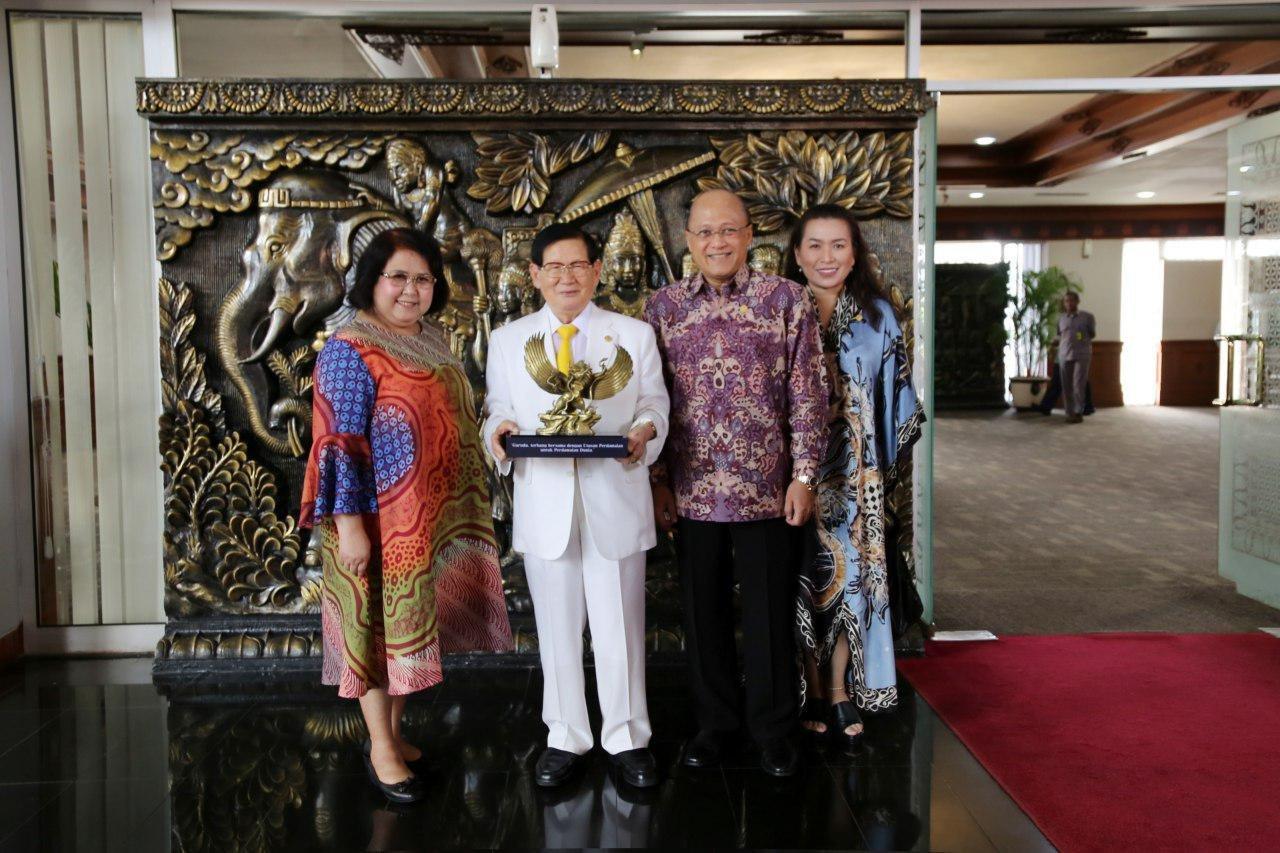 إندونيسيا تسعى لبناء السلام مع منظمة غير حكومية دولية