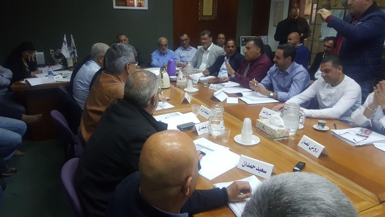 الناصرة: أجواء مشحونة شهدتها جلسة المجلس البلدي خلال التصويت على ميزانية 2018 يوم أمس