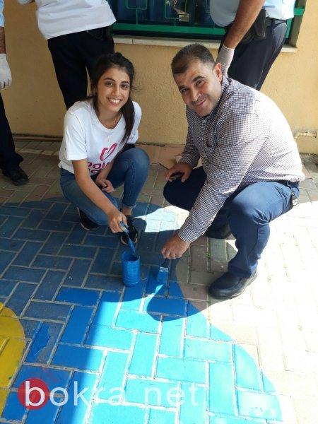 يوم الأعمال الخيرية في طمرة .. مشاركة واسعة وأجواء مميزة