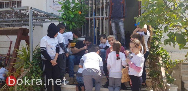 يوم الأعمال الخيرية في المغار .. أجواء مميزة