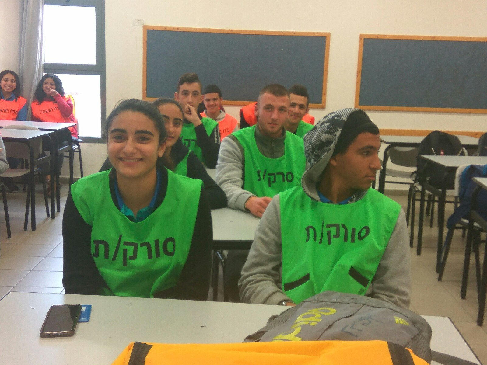 طلاب بيت الحكمة في الناصرة يشاركون في تمرين مواجهة الطوارئ