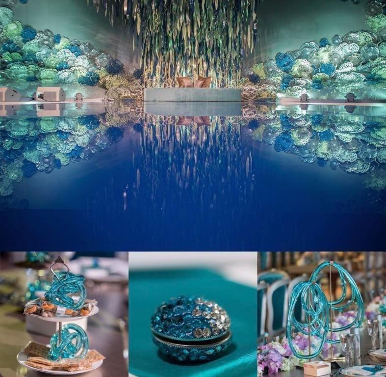 شاهدوا صور من زفاف الشيخة شعاع بنت بدر آل ثاني الخيالي