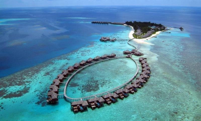 إجازة في جزيرة معزولة بالـمالديف