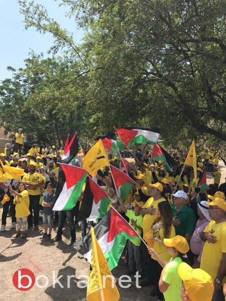 العربية للتغيير تُحيي ذكرى النكبة في قرية حطّين المهجّرة بمشاركة واسعة