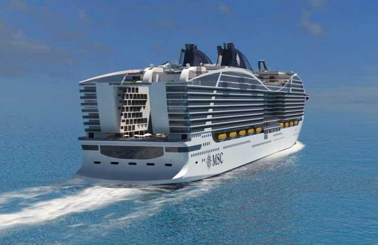 الكشف عن خطط لتدشين ثاني أكبر سفينة سياحية في العالم