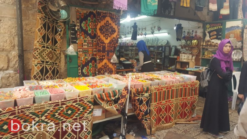 مع اقتراب العيد : اسواق القدس تشهد حركة تجارية
