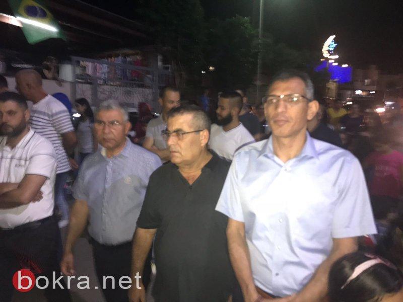 بستان المرج: مسيرة رمضانية احتفالية مميزة في كفر مصر