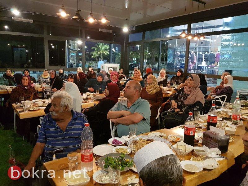 المجلس المحلي الشبلي أم الغنم ينظم افطارًا للمسنين
