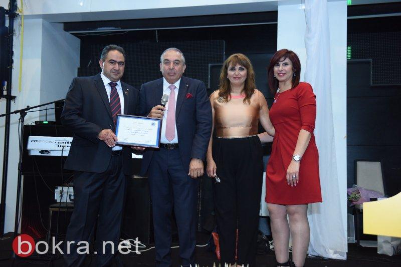 احتفال تبادل الرئاسة لنوادي الليونز في مدينة الناصرة