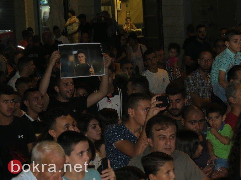 هيثم خلايلة ونانسي حوا يتألقان في حفل غنائي بمدينة الناصرة