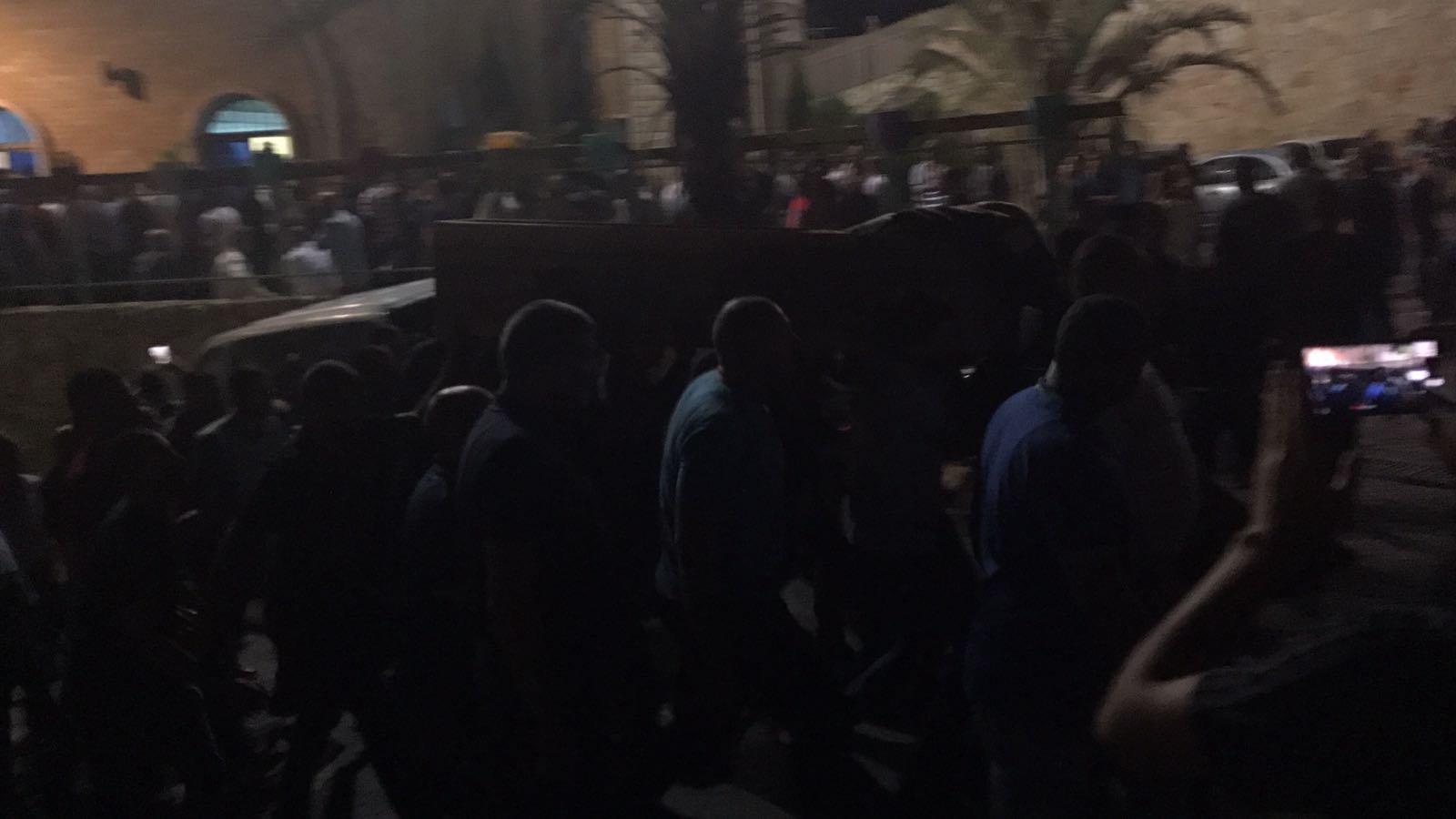 ام الفحم: جماهير غفيرة تشيع الشاب محمد اغبارية لمثواه الأخير