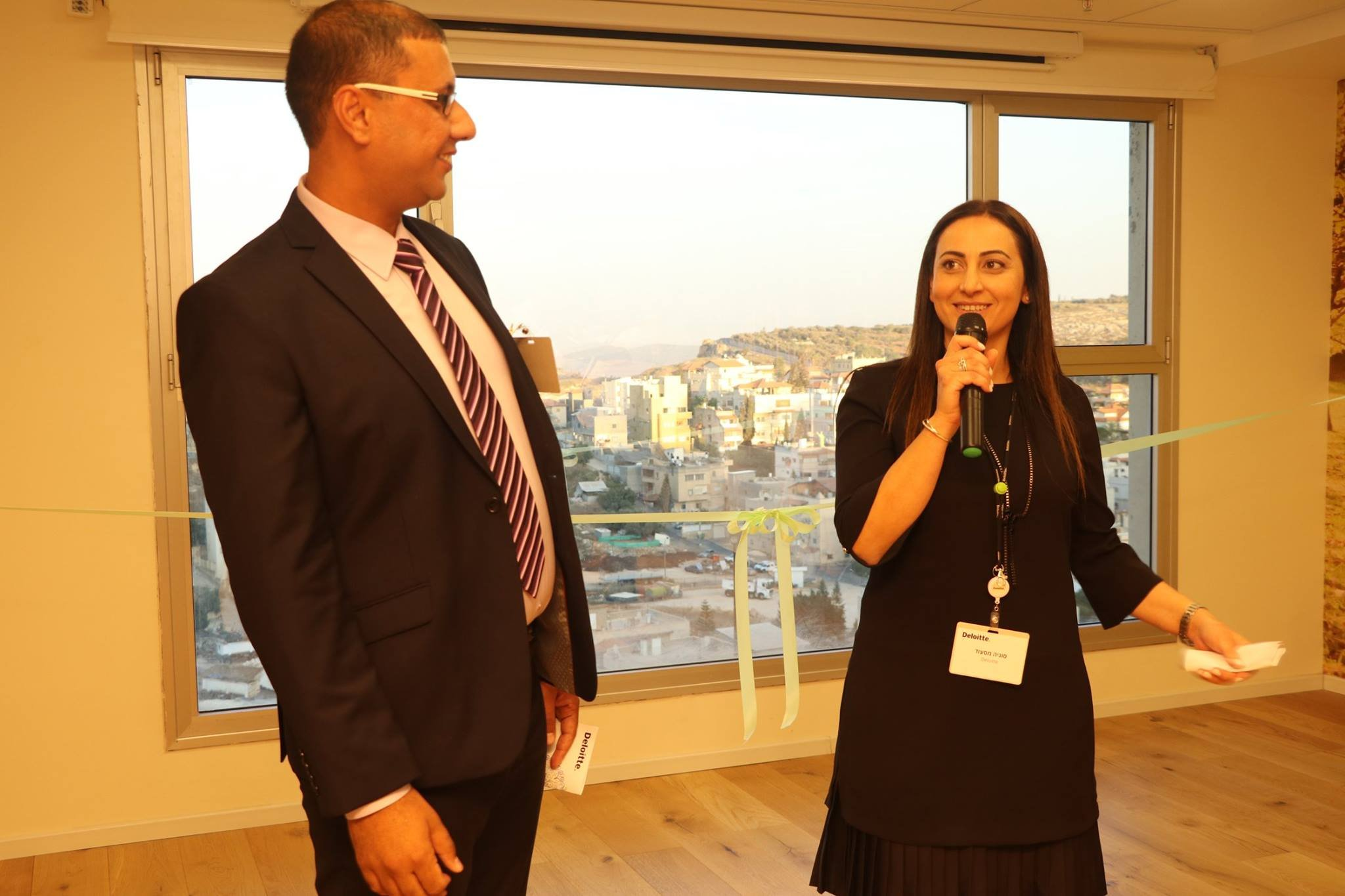 افتتاح فرع ديلويت في الناصرة، مزيدًا من الصور