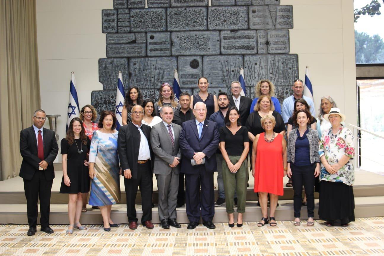 دركينو- طريقنا: رئيس الدولة يتسلم  معاهدة الحوار الإسرائيلي