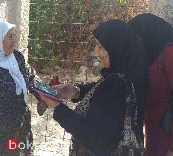 جولة لمشاركات مشروع  نساء على درب العودة  في حطين