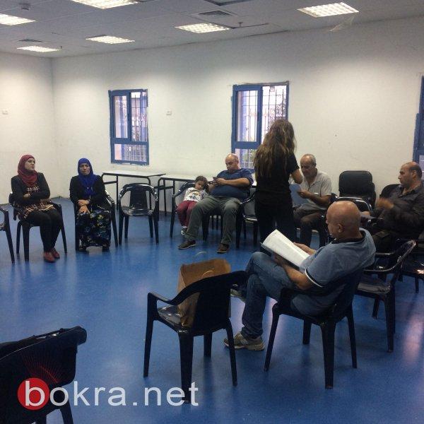 لقاء البدء منذ الآن في المركز الجماهيري في كفر مندا ضمن مشروع خارطة الطريق