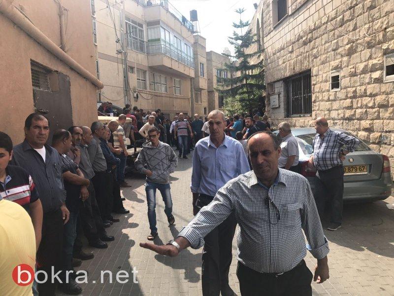 ام الفحم تشيّع عضو بلديتها رياض محاميد لمثواه الاخير