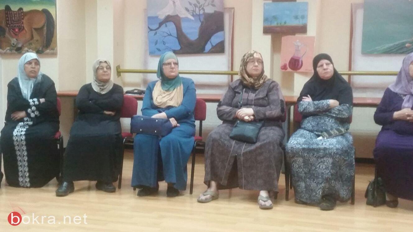 لقاء البدء منذ الآن في المركز الجماهيري في ابو اسنان ضمن مشروع خارطة الطريق
