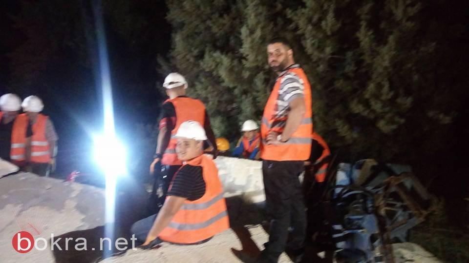 بستان المرج: اختتام دورة ساعار (مساعدة ذاتية أولية) بحالات الطوارئ