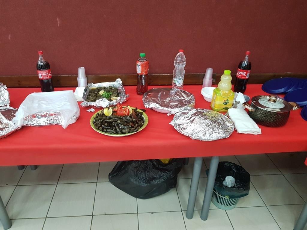 يوم المأكولات الشعبية للمتقاعدين في المركز الجماهيري دبوريه