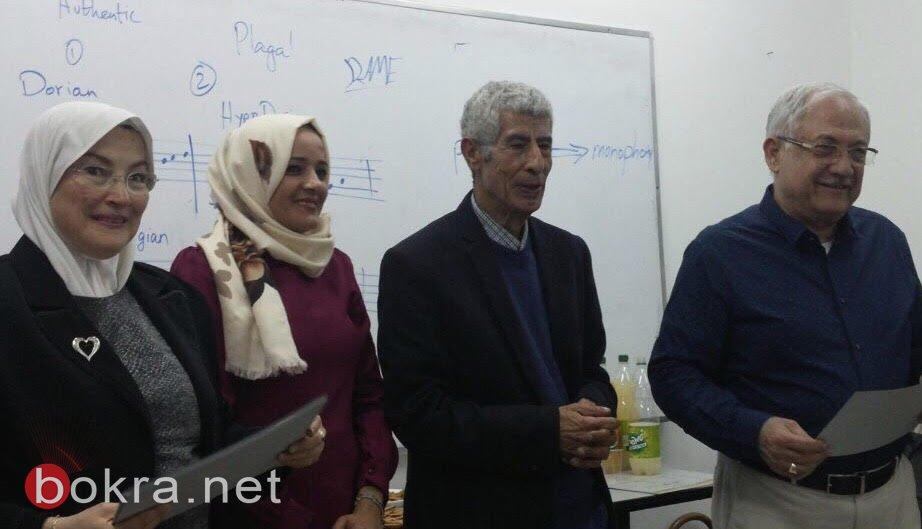 فنانون يشاركون ويتميّزون بمعرض لمسات في الناصرة