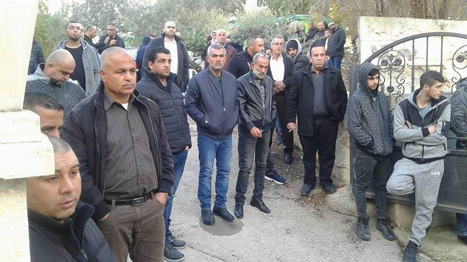 زلفة: تشييع جثمان القتيل امارة