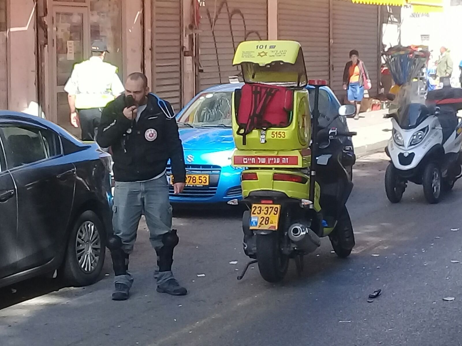 حادث طرق ضرب وهرب في يافا وإصابة خطيرة لسيدة