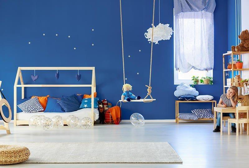 نقطة البداية في ديكورات غرف نوم الأطفال - صور