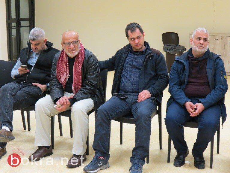 مشاركة واسعة لممثلي اللجان الشعبية في عرابة للتحضير لمهرجان يوم الأرض الخالد