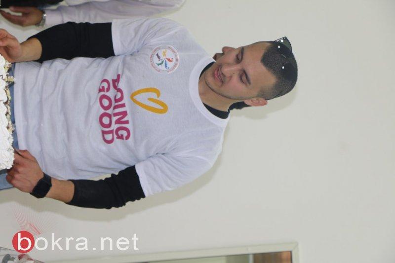 مشاركة واسعة ونجاح باهر ليوم الاعمال الخيرية في دبورية