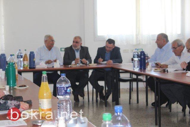 قرارات وقضايا هامة باجتماع اللجنة القطرية في الناصرة اليوم