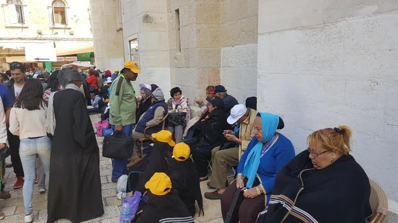 مسيرات دينية بـالجمعة العظيمة في القدس القديمة