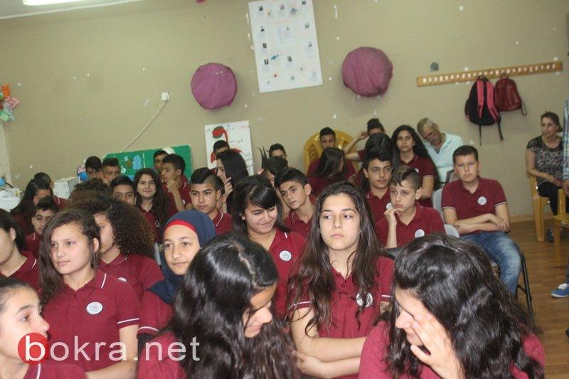 سخنين: فعاليات ميزة في أسبوع اللّغة العربيّة والتّراث في مدرسة الحلّان الاعداديّة