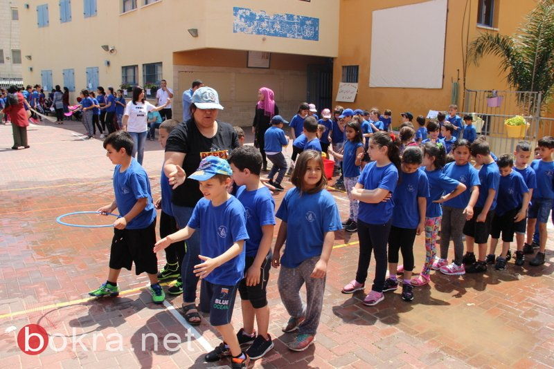 اليوم الرياضي الثامن في مدرسة ابن رشد الابتدائية – عرابة